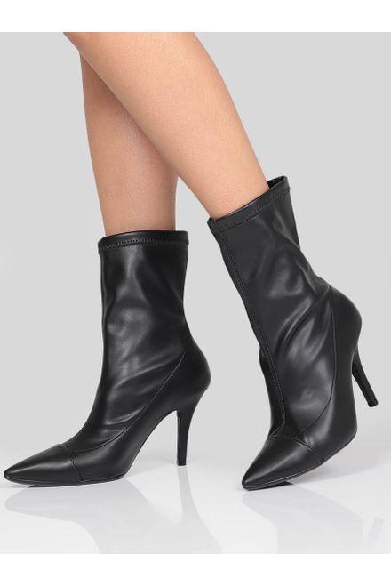 Ankle-Boots-Feminina-Vizzano-Salto-Fino-Stretch
