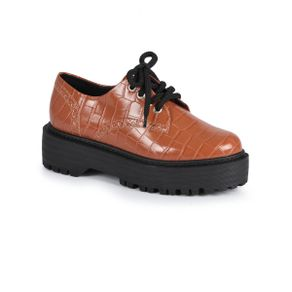 Sapato-Feminino-Oxford-Offline-Croco