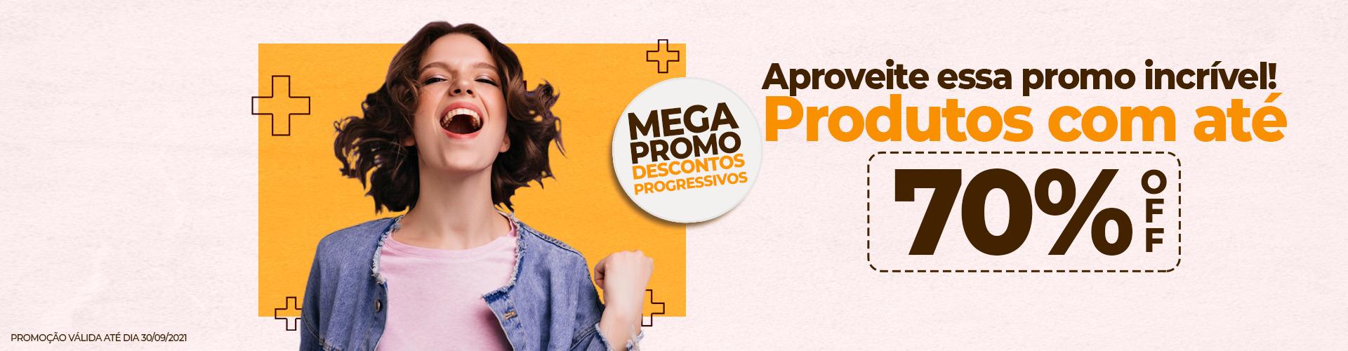 Mega Promo 70% Off
