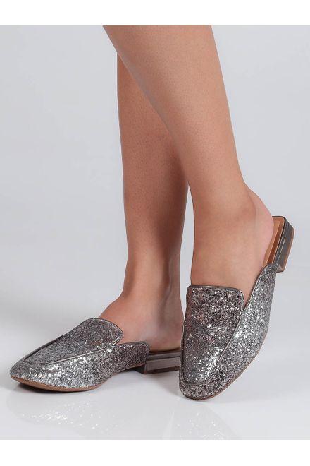 Tamanco-Feminino-Mule-Rasteiro-Vizzano-Glitter
