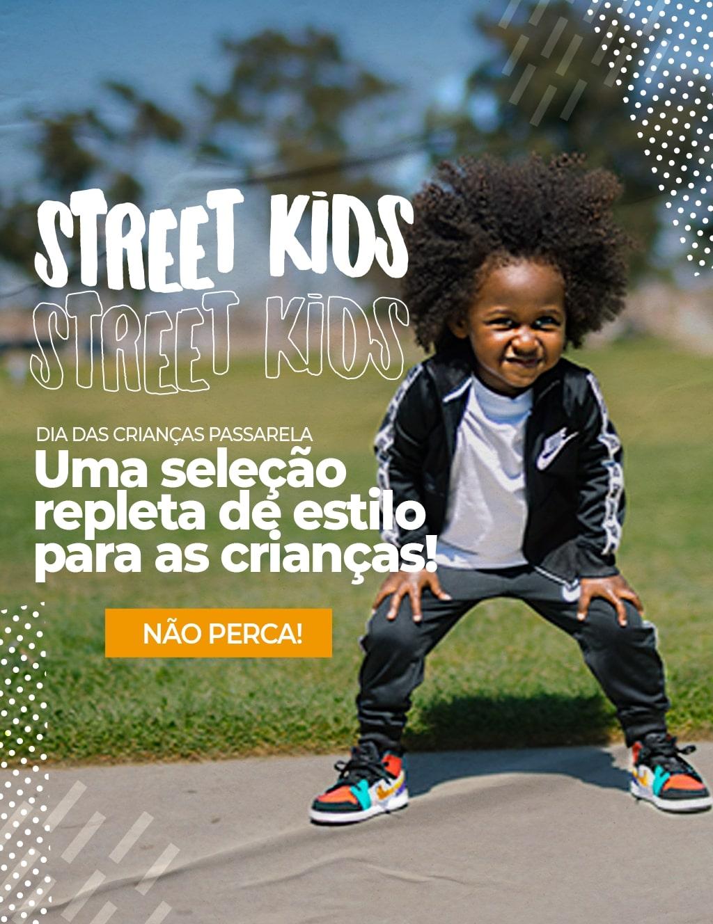 Topo 01: Dia das crianças street