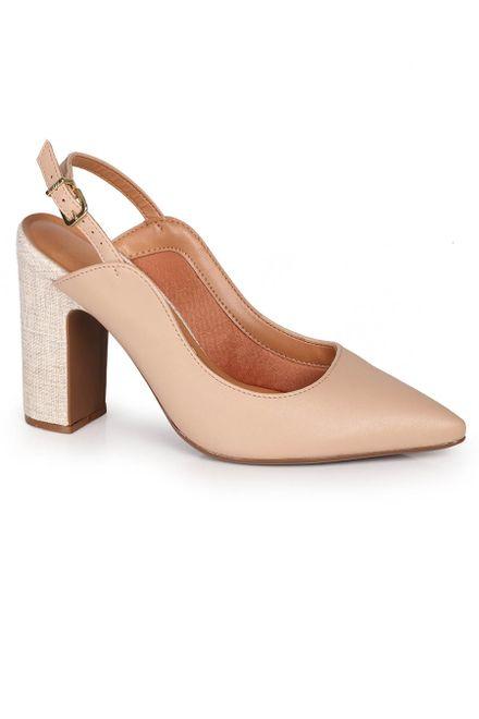 Sapato-Feminino-Scarpin-Vizzano-Slingback-Salto-Grosso