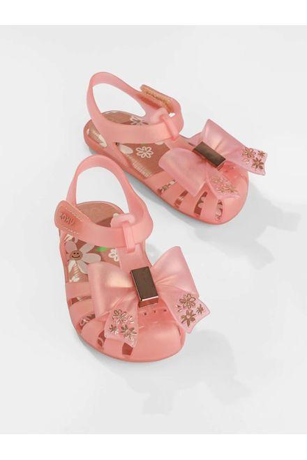 Sandalia-Rasteira-Infantil-Zaxy-Laco-Flor