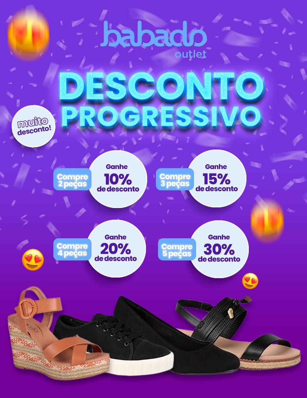 Topo 01: Desconto + Progressivo