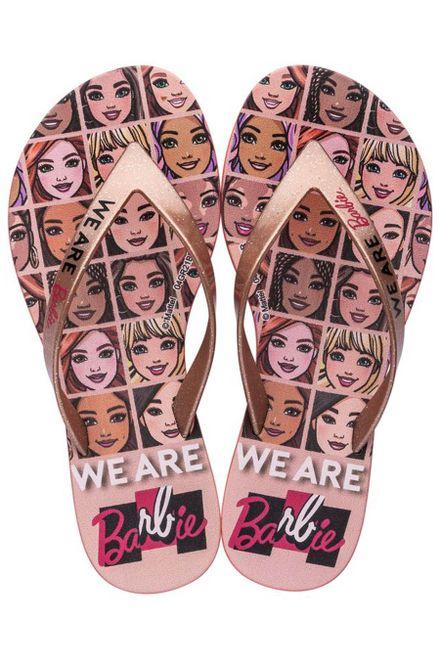 Chinelo-Infantil-Grendene-Barbie-Faces