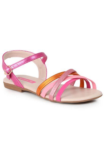 Sandalia-Rasteira-Infantil-Pe-com-Pe-Glitter