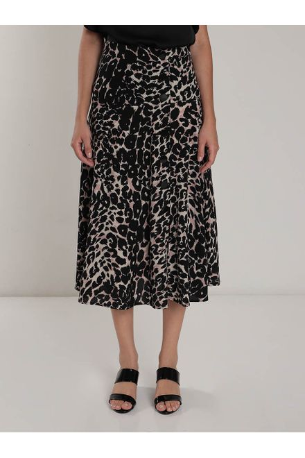 Saia-Midi-Facinelli-Animal-Print
