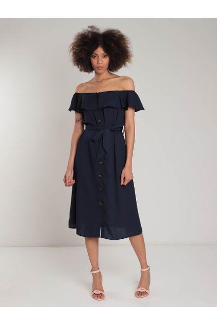 Vestido-Feminino-Facinelli-Ombro-a-ombro-botao