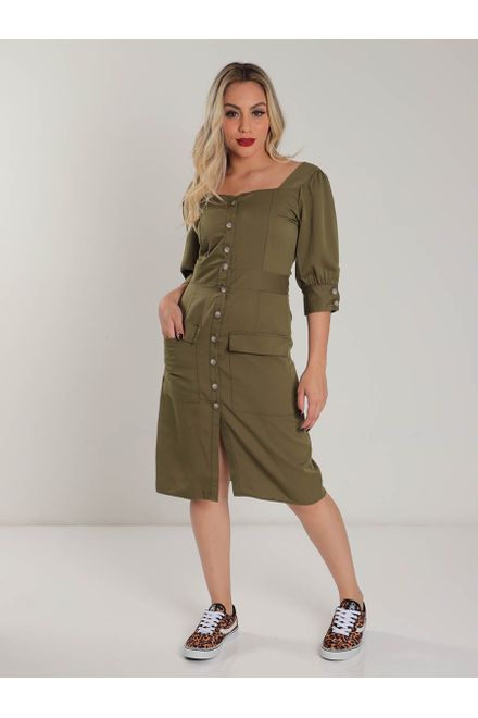 Vestido-For-Why-Militar
