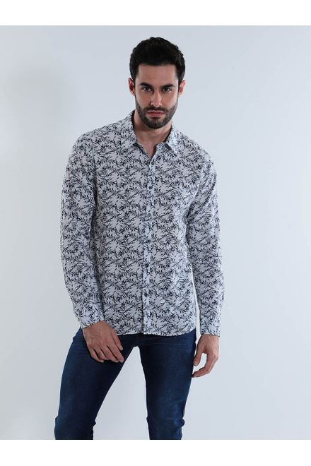 Camisa-Estampada-Yachtmaster-Botao