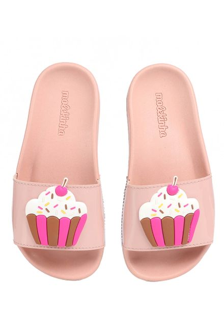 Chinelo-Slide-Infantil-Molekinha-Cupcake