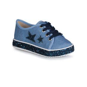 Tenis-Infantil-Molekinha-Estrelas-Aplique-Glitter