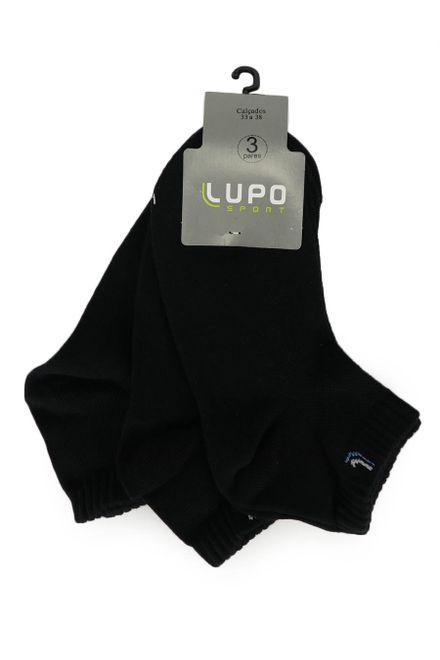 Kit-de-Meia-Feminina-Lupo-com-3-Unidades