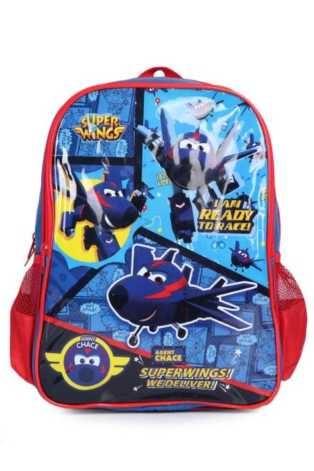Mochila-Infantil-Luxcel-Super-Wings