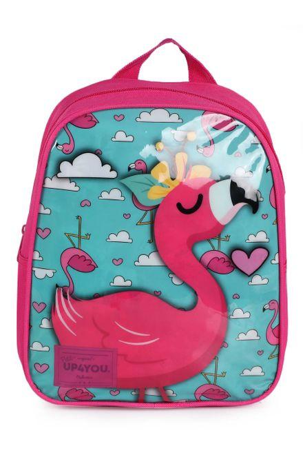 Mochila-Infantil-Luxcel-Flamingo