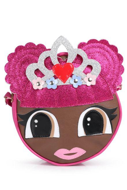 Bolsa-Transversal-Infantil-Garotas-Brilhantes-Coroa