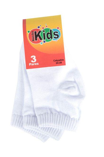Kit-de-Meia-Infantil-Passarela-Kids-com-3-Unidades-Basicas