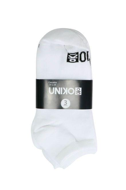 Kit-de-Meia-Soquete-Uniko-com-3-Unidades