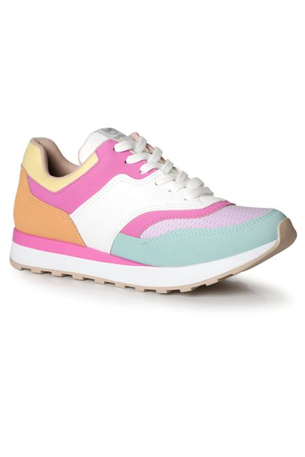 Tenis-Jogging-Feminino-Via-Marte-Color-Block