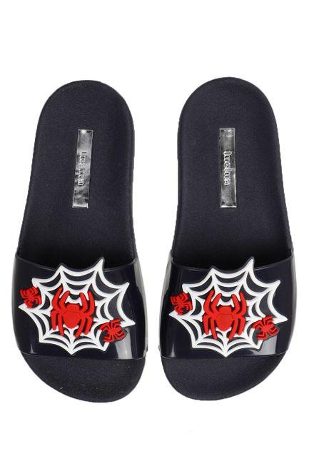 Chinelo-Slide-Infantil-Luelua-Aranhas