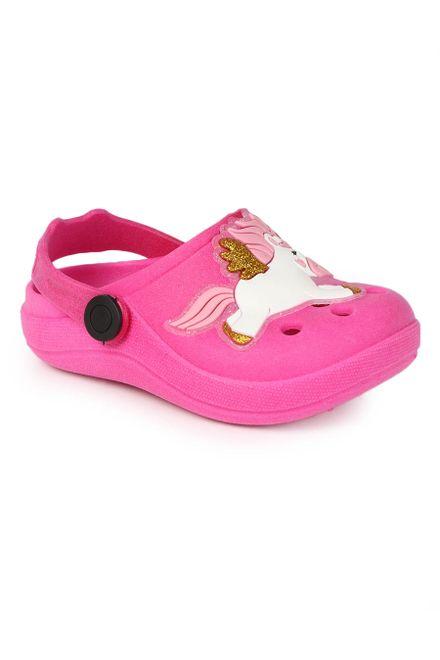 Sandalia-Clog-Infantil-Luelua-Unicornio-Glitter