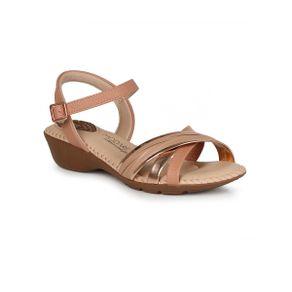 Sandalia-Anabela-Feminina-Conforto-Modare-Metalizada