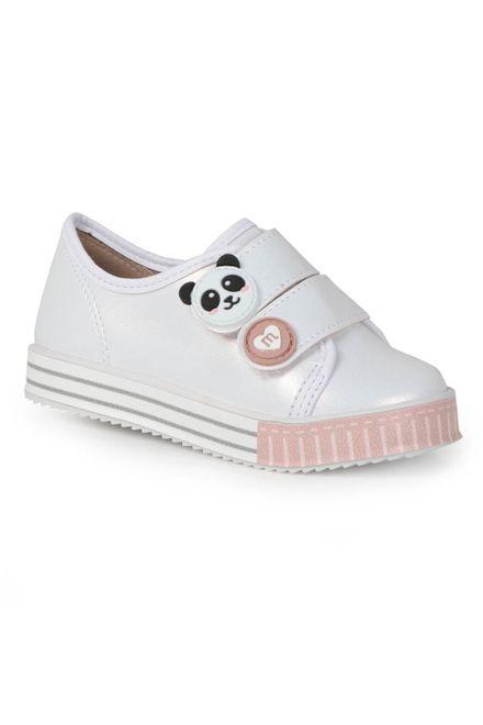 Tenis-Infantil-Molekinha-Panda-Velcro