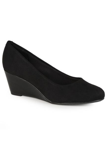 Sapato-Anabela-Feminino-Conforto-Beira-Rio-Bico-Redondo