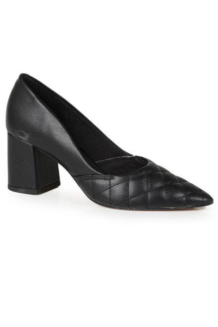 Sapato-Scarpin-Feminino-Offline-Matelasse-Bico-Fino