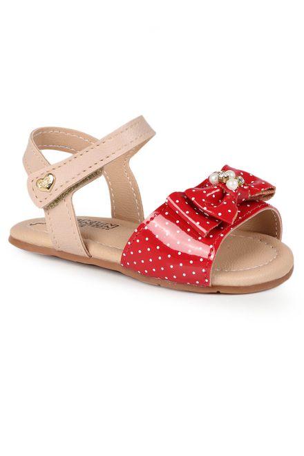 Sandalia-Rasteira-Infantil-Klin-Cupcake-Poa