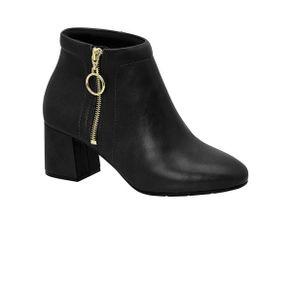 Ankle-Boots-Feminina-Conforto-Modare-Ziper-Argola-Basica