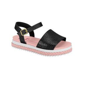 Sandalia-Rasteira-Infantil-Molekinha-Onca-e-Glitter