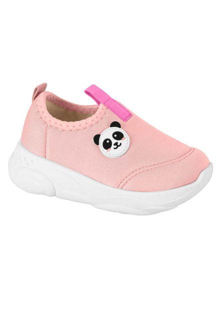 Tenis-Infantil-Molekinha-Panda-De-Vestir